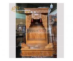 Mẫu bàn thờ Ông Địa -Thần Tài hiện đại với các kích thước đẹp Quận 3