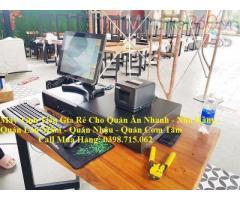 Combo máy tính tiền giá rẻ cho quán nhậu tại Phú Quốc