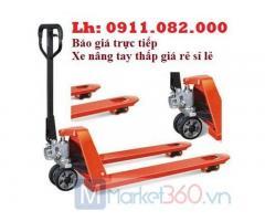 Phân phối xe nâng tay thấp 3 tấn giá rẻ tại sóc trăng- xe nâng tay niuli đài loan-