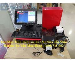 Lắp trọn bộ máy tính tiền cảm ứng giá rẻ cho tạp hóa tại Tân Hiệp