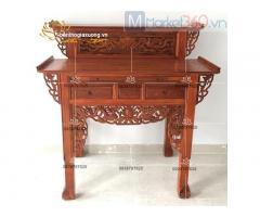 Mẫu bộ bàn thờ gia tiên gỗ hiện đại được sử dụng nhiều nhất 2021