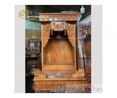 Chiêm ngưỡng mẫu bàn thờ Ông Địa-Thần Tài đẹp đơn giản Quận 7