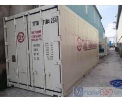 Container chứa hàng đông lạnh