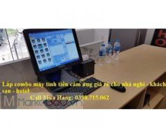 Lắp máy tính tiền giá rẻ cho nhà nghỉ tại Phú Quốc