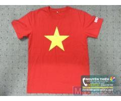 Nhà cung cấp áo thun đồng phục uy tín, áo thun in logo theo yêu cầu, áo thun thêu logo theo yêu cầu tpHCM