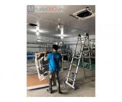 Đơn vị chuyên thầu, tư vấn - thiết kế- thi công máy lạnh âm trần cho nhà xưởng