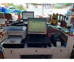 Lắp combo máy tính tiền cho cửa hàng vật liệu xây dựng giá rẻ tại Phú Quốc
