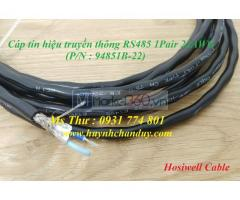 Cáp mạng RS485 1P24AWG - Hosiwell