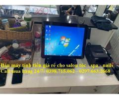 Tư vấn máy tính tiền rẻ nhất cho salon tóc, spa tại Phú Quốc