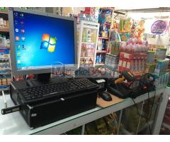 Bộ máy tính tiền bằng mã vạch cho Cửa hàng Tạp hóa tại Đồng Tháp