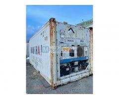 Container lạnh 20 feet lạnh hàng nước ngoài