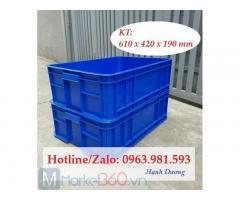 Hộp nhựa HS003,thùng nhựa đặc,sóng nhựa bít