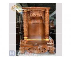 Tổng hợp các bộ bàn thờ Ông Địa - Thần Tài đẹp đơn giản Quận5