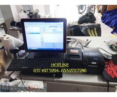Combo máy tính tiền cảm ứng cho Shop quần áo tại Tiền Giang