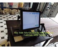 Trọn bộ máy tính tiền giá rẻ cho shop quần áo, phụ kiện tại Tân Hiệp