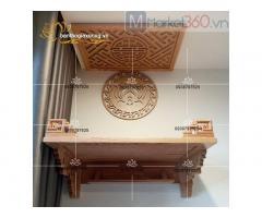 Các mẫu bàn thờ treo tường thiết kế đơn giản hiện đại Quận 12
