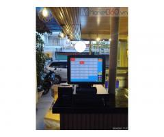 Lắp combo máy tính tiền cảm ứng giá rẻ cho quán cafe tại Rạch Gía