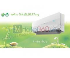 Báo giá đại lý thấp nhất cho Máy lạnh treo tường GREE bao rẻ toàn Sài Gòn