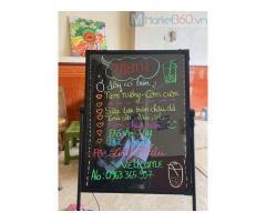 Bán bảng led viết tay giá rẻ cho spa, salon tóc tại Phú Quốc