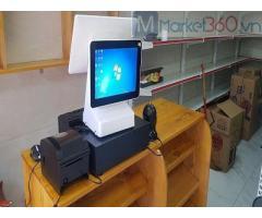 Trọn bộ máy tính tiền cảm ứng rẻ nhất tại Phú Quốc cho tạp hóa tự chọn, siêu thị mini