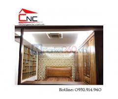 Mẫu vách ngăn phòng ngủ hiện đại đơn giản đẹp mắt Quận Tân Phú