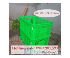 Sọt nhựa HS018, rổ nhựa