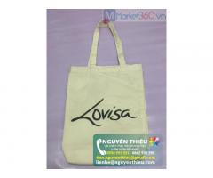 Công ty Nguyên Thiệu cung cấp túi vải không dệt, túi vải quai xách, túi vải in logo, túi xách vải giá rẻ