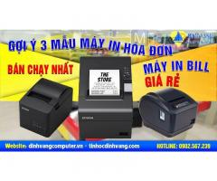 3 Mẫu máy in hóa đơn, máy in bill giá rẻ bán chạy nhất