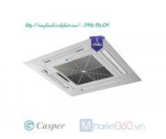 Phân phối Điều hòa Máy Lạnh âm trần cassette Casper với giá rẻ cực kỳ hấp dẫn