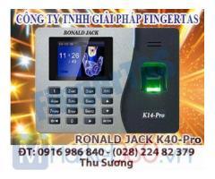 Chuyên lắp đặt máy chấm công vân tay K14PRO hàng chính hãng