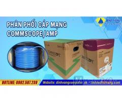 Đại lý phân phối dây cáp mạng commscope/ amp cat5e, cat6