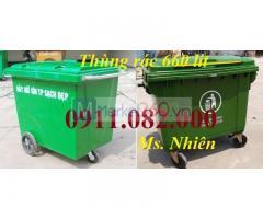 Giảm giá thùng rác 240 lít giá rẻ tại cần thơ- thùng rác mới 100%-