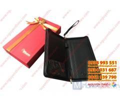 Nhà cung cấp ví da quà tặng giá rẻ, ví da cầm tay nam, ví da cầm tay nữ,