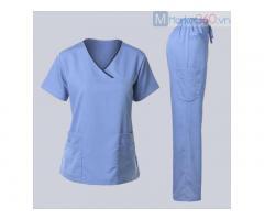 May Đồng phục y tá điều dưỡng