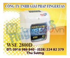 Máy chấm công thẻ giấy WSE2800 giao hàng nhanh giá cạnh tranh