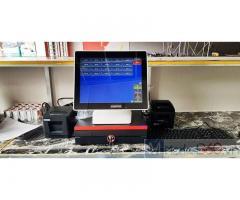 Combo máy tính tiền cảm ứng cho Quán ă gia đình tại Cần Thơ