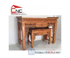 Mẫu bàn thờ gia tiên đơn giản đẹp mắt giá rẻ Quận Bình Tân
