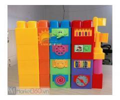 Lego lắp ghép 78 chi tiết lớn