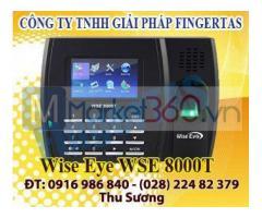 Lắp đặt máy chấm công vân tay 8000T tặng kèm phần mềm chính hãng