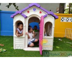 Nhà cổ tích trẻ em cho trường mầm non, công viên, quán cà phê, KVC