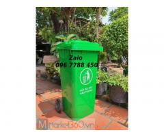Thùng rác nhựa 240 lít, 660 lít, 120 lít giá rẻ toàn quốc