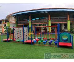 Nhận tư vấn, thiết kế, thi công khu vui chơi trẻ em trong nhà - ngoài trời
