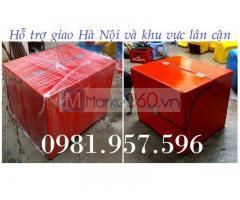 Thùng giao bưu phẩm sau xe máy, thùng chở bưu tín cho xe máy
