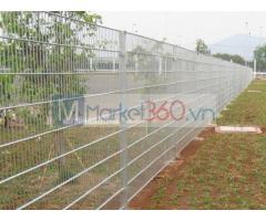 Lưới thép hàng rào mạ kẽm, hàng rào mạ kẽm nhúng nóng, hàng rào lưới thép