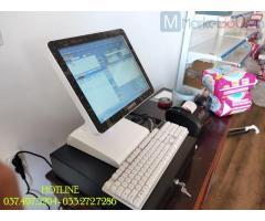 Máy tính tiền bằng mã vạch cho Cửa hàng sữa- Tạp hóa tại Cần Thơ
