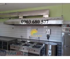 Nhận thi công - lắp đặt nhà bếp ăn cho trường mầm non, nhà hàng, canteen