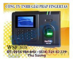 WSE808 máy chấm công vân tay tặng kèm phân mềm chính hãng