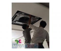 Chọn đơn vị uy tín chuyên thi công máy lạnh âm trần - Máy lạnh âm trần LG cho nhà xưởng