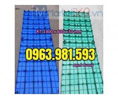 Pallet nhựa 1800 x 600 x 50 mm