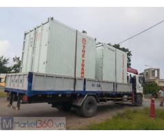 Container 10 lạnh chứa hàng thủy hải sản đông lạnh